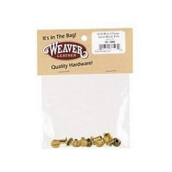 Weaver Chicago Screw, solid brass