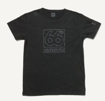 66 ° NORTH Logn heren T-shirt