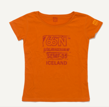 66 ° NORTH Logn women's T-shirt