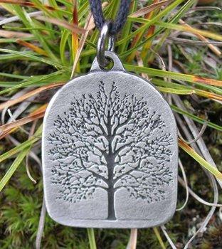 Levensboom keltische amulet, Tree of Life.