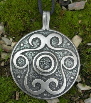 Keltische Spiraal hanger