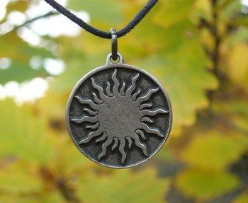 Keltische zon amulet