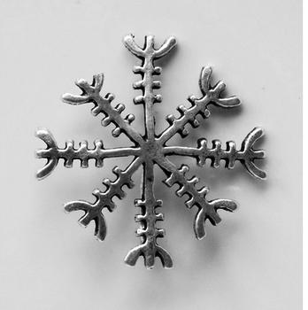 Ægishjálmur, ijslandse rune hanger