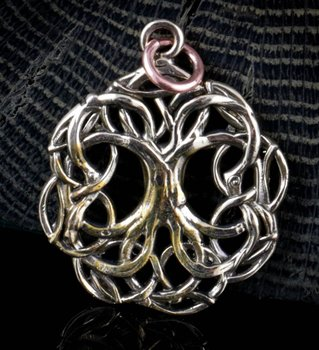 Yggdrasil Levensboom amulet, Tree of Life.