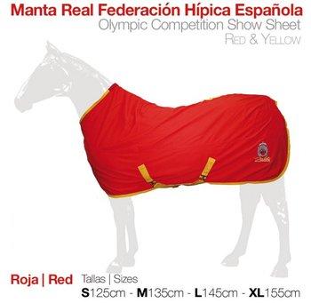 Fleece deken Federación Hípica Española