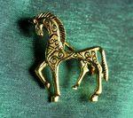 Paard van Troje, broche