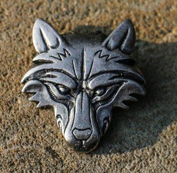 VIKING Wolf hoofd, hanger