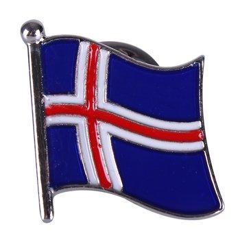 IJslandse vlag Reversspeld/Pin
