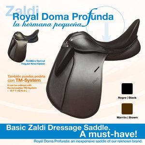 Zaldi Royal Doma Profunda,  dressuur